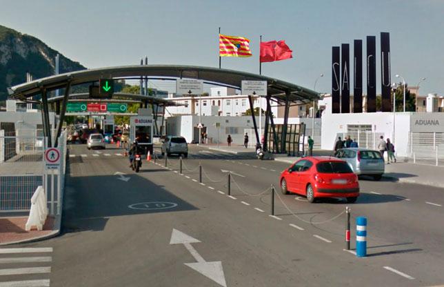 Aduana de entrada a Salou si Cataluña se independiza