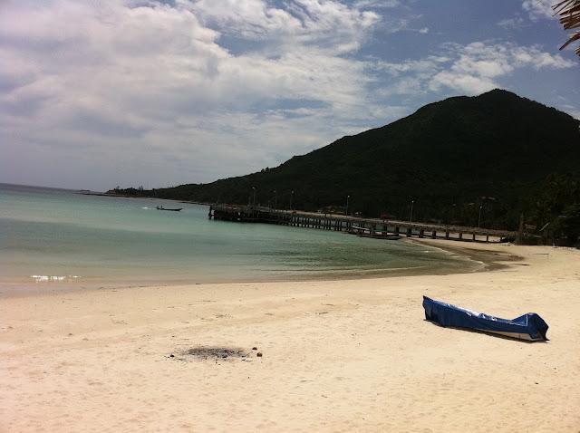 La playa de Koh Phangan
