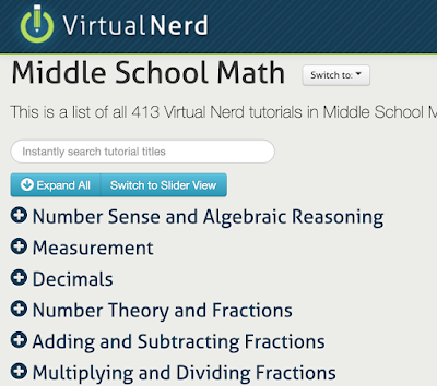 A Library of Over 1500 Free Math Video Lessons for Teachers and Students