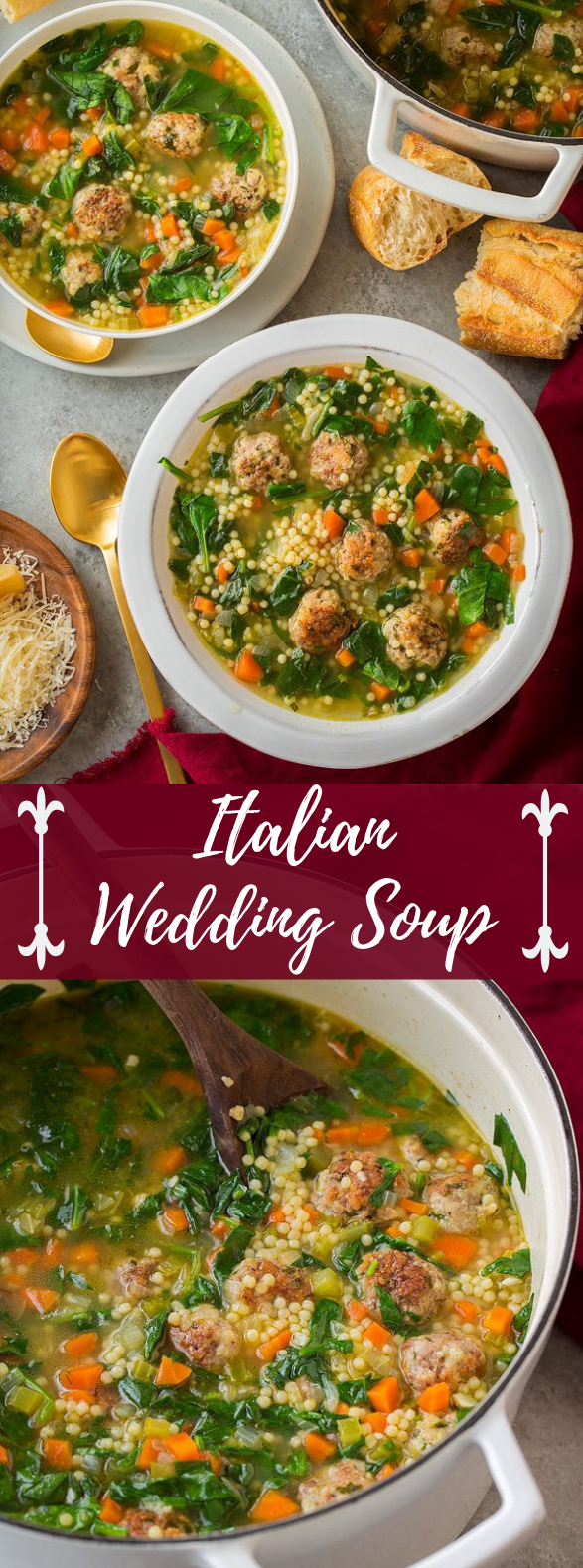 Italian Wedding Soup #meals #italianrecipes