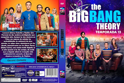 CARATULA THE BIG BANG THEORY - LA TEORIA DEL BIG BANG - TEMPORADA 12 - 2018 [COVER DVD]