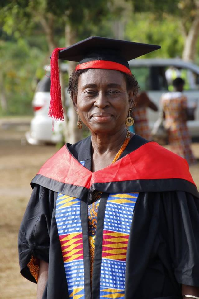 70-yr old UCC graduate proves it's not late to get another degree
