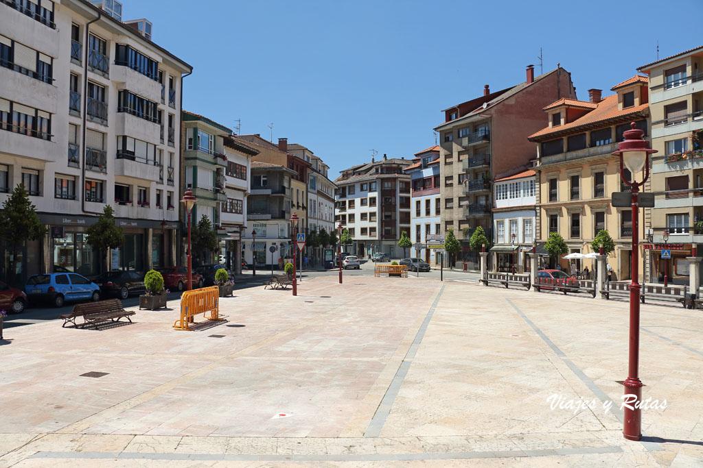 Plaza del Güevu de Villaviciosa