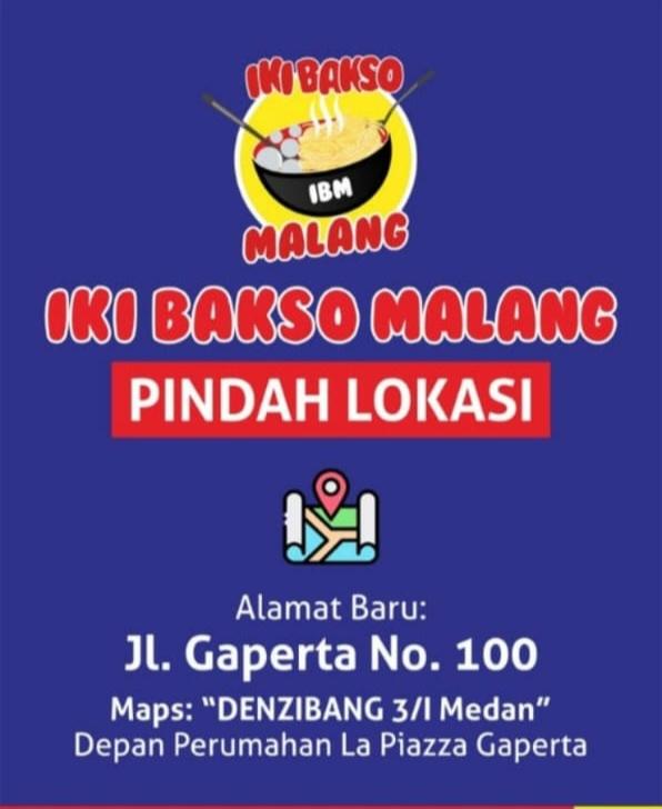 Iki Bakso Malang - Gaperta - Medan