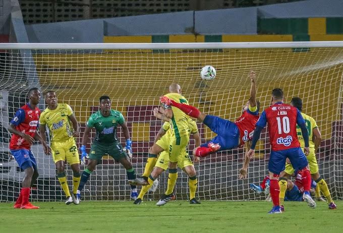 Los del 'Bolillo', por la 'mínima': Independiente Medellín ganó a domicilio, en su visita al Bucaramanga