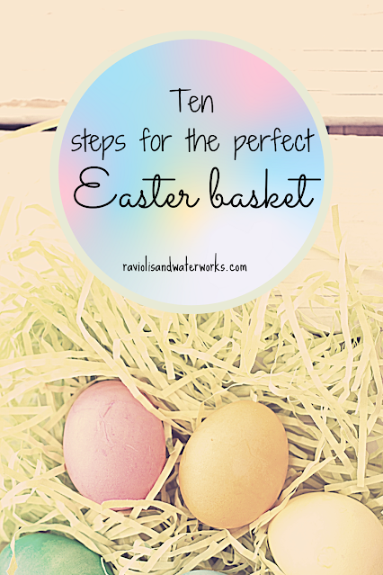 how to make a themed easter basket; easter basket for dummies; easter gifts for kids; unique easter ideas for kids