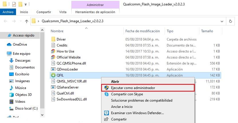 Cómo flashear, instalar firmware a un teléfono Qualcomm con QFIL Tool paso a paso