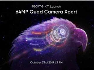 Realme XT ponsel baru Realme dengan Kamera 64MP