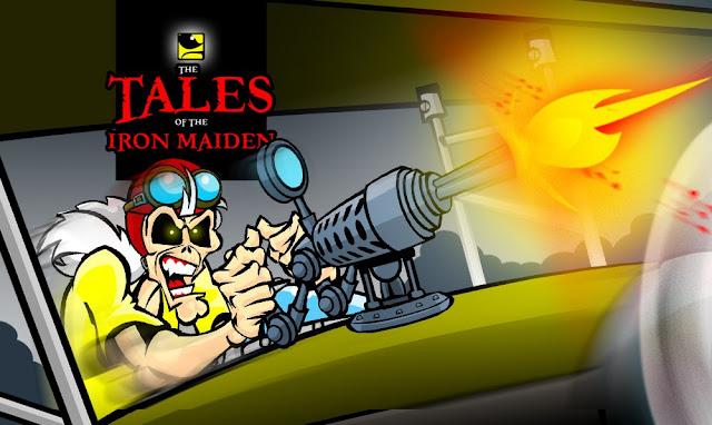 "Maiden Cartoons: assista vídeo para ""Death Or Glory"""