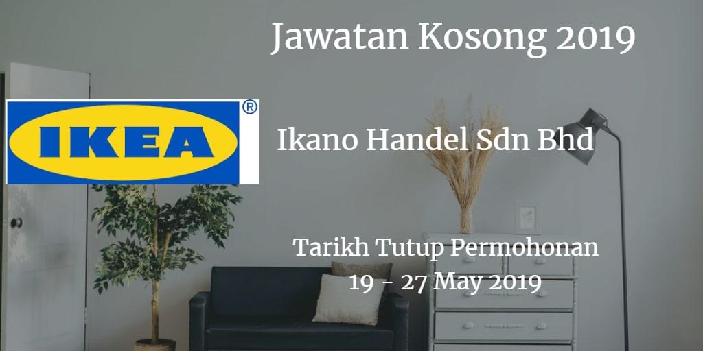 Jawatan Kosong IKEA 19 - 27 May 2019