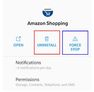 تسوق  تطبيق أمازون