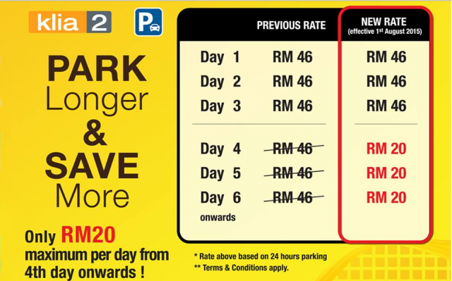Parking Di Park And Ride Salak Tinggi Ke Klia Klia2