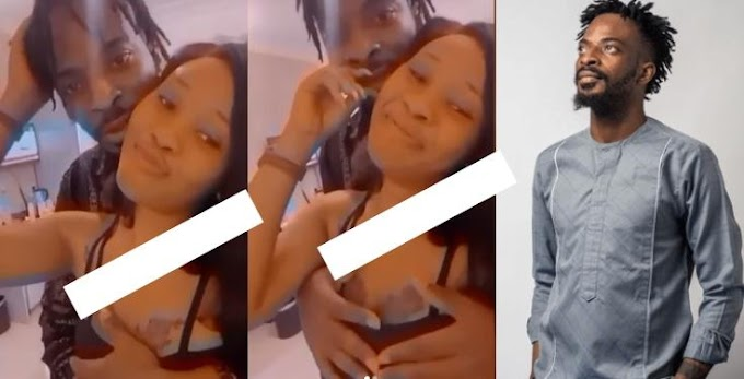Video Of Married Singer, 9ice, Pressing A Lady's Boobs Surfaces Online