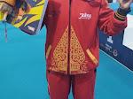 Cabor kick boxing Persembahkan Emas Pertama Untuk Jawa Tengah Pada PON Papua.