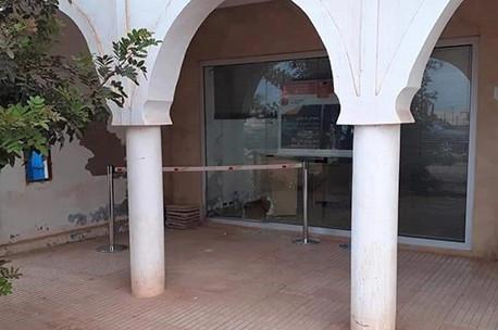 agadirpress  مصالح الدرك تحبط سرقة وكالة بنكية في ميراللفت  جريدة أكادير بريس