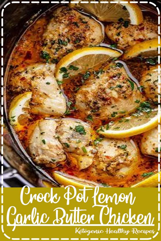 If you are looking for an easy but delicious crock pot dinner idea Crock Pot Lemon Garlic Butter Chicken