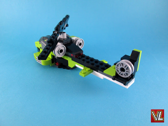 Set LEGO Creator 31007 Power Mech - fast helicopter (modelo 3)