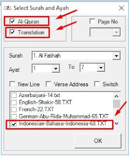 Aplikasi Quran in Ms Word Ver.2.2 dan Cara Penggunaannya