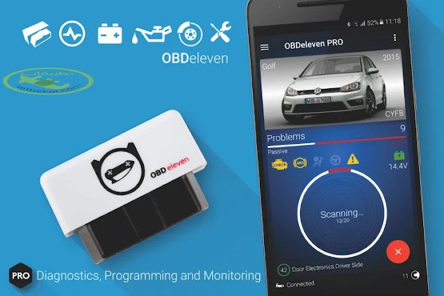 تنزيل تطبيق OBDeleven لتشخيص السيارات تطبيق استكشاف الأخطاء وإصلاحها في السيارة لهاتف الاندرويد