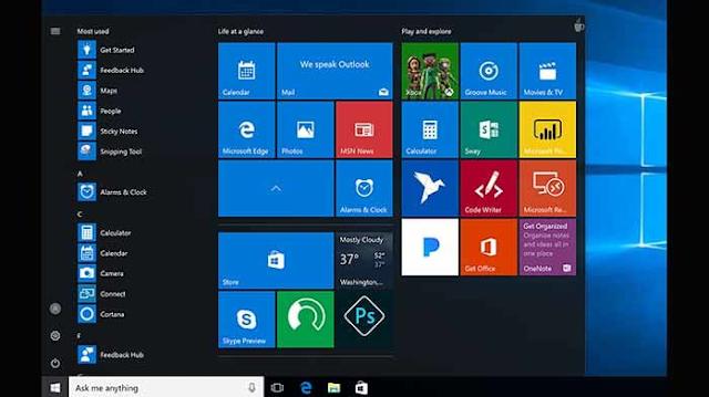 يشير تسرب جديد إلى أن المظهر الجديد لنظام التشغيل Windows 10 لن يتضمن صورًا مصغرة ديناميكية.    بالنسبة لأولئك الذين لا يعرفون ، فإن الصور المصغرة الديناميكية هي الصور المصغرة لقائمة ابدأ.    التسريب دقيق ، لكن يمكن اقتراحه لـ Windows Lite بدلاً من الإصدار الكامل من Windows 10. تبدو قائمة Start الجديدة المقترحة مثل المدرسة القديمة الموجودة لدينا حاليًا مع Windows 10.