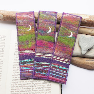 Aurora Felt Bookmark