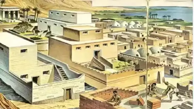 Ancient Egyptians Houses