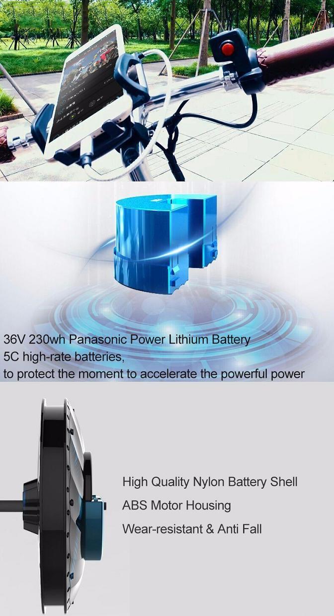 Imotor Kit For Any 26 Inch Bicycle Panasonic Power