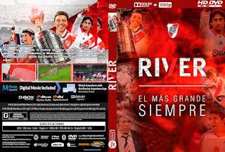 RIVER – EL MAS GRANDE SIEMPRE – 2019 [COVER – DVD]
