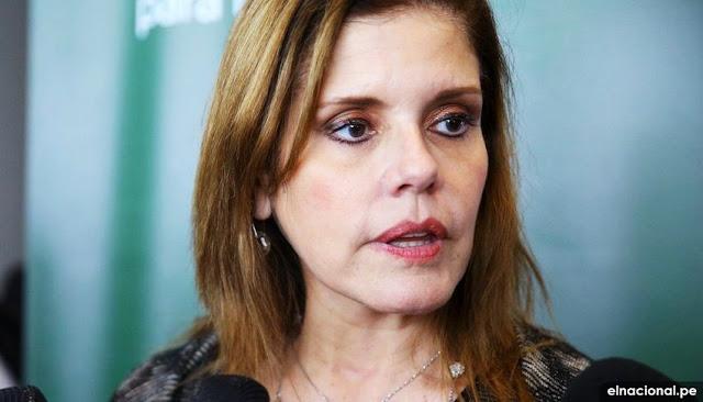 Congreso aprobó renuncia de Mercedes Aráoz a la Vicepresidencia de la República