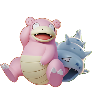 Pokémon Unite - Slowbro Splash Art