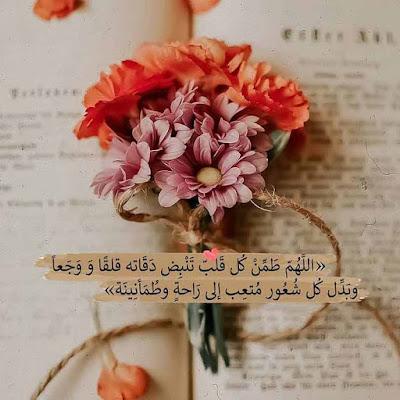 اللهم طمن كل قلب