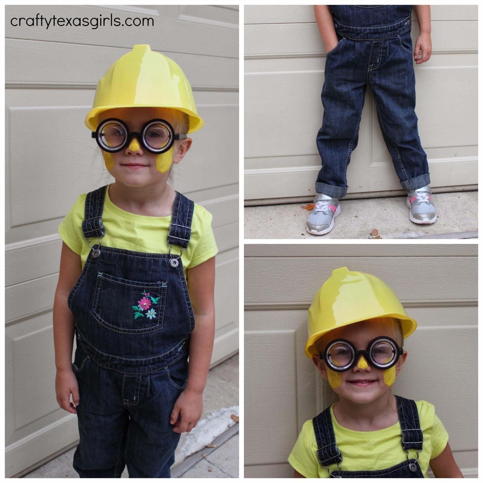 d12b82a4 Crafty Texas Girls: DIY Minion Costume