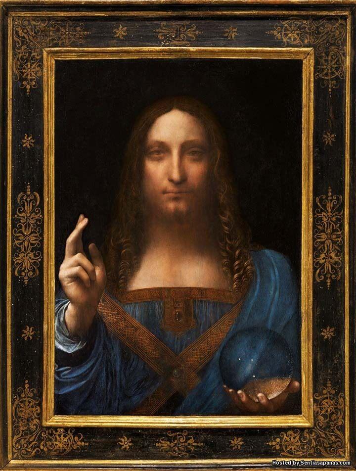Salvator Mundi Potret Nabi Isa Lukisan Paling Mahal Di Dunia Berharga RM1.84 Bilion
