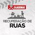 PREFEITURA DE CAJAZEIRAS RECUPERA PAVIMENTAÇÃO DE RUAS