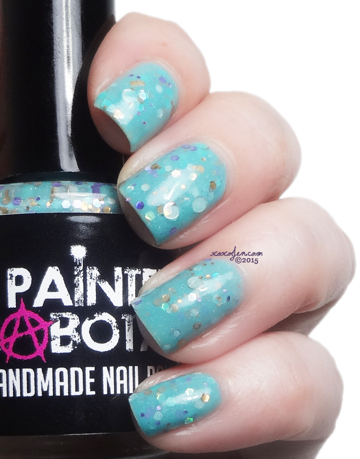 xoxoJen's swatch of Painted Sabotage The Mermaid's Song