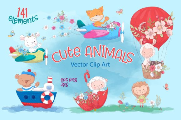 Cute Animals 141 Cute Designs