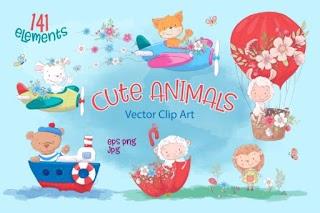 Cute Animals 141 Cute Designs