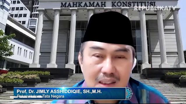 Prof Jimly Soal Perpanjangan Masa Jabatan Presiden: Ada yang Mau Menjilat