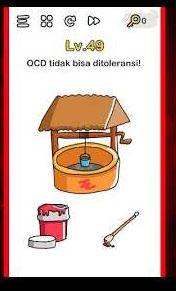jawaban OCD Tidak Bisa Ditoleransi Brain Out
