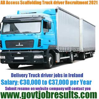 AB Access Scaffolding Truck Driver Recruitment 2021-22
