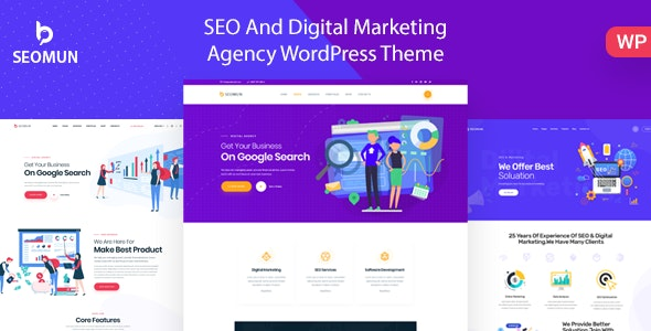Download Seomun v1.0.3 – Digital Agency & Marketing WordPress