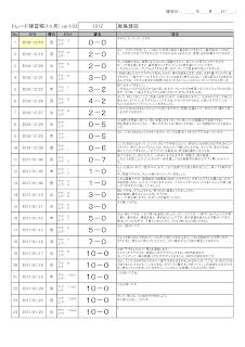 建玉練習帳(先生のお手本)