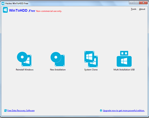 Download WinToHDD 5.1 - Cài Win từ ổ cứng dễ dàng, nhanh chóng a