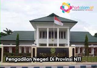 Alamat Kantor Pengadilan Negeri Di Provinsi Nusa Tenggara Timur