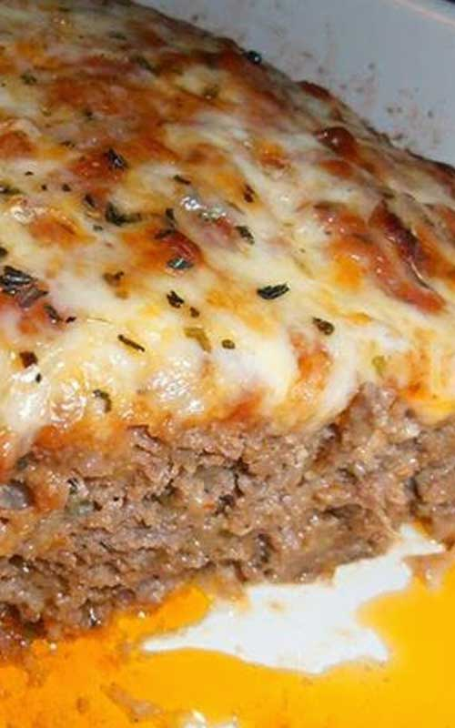 Best and Delicious Italian Meatloaf