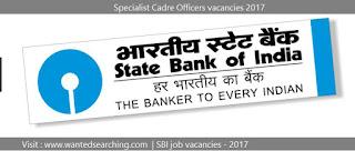 SBI job vacancies 2017