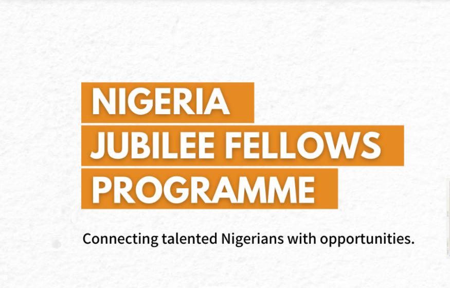 Nigeria Jubilee Fellowship Programme - FutaNewsandGist