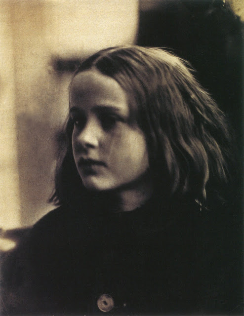 """Annie my first success"", Julia Margaret Cameron's first photo that she was pleased with. Subject is Annie Wilhelmina Philpot (1854-1930). 29 January 1864. Albumen print, 188 x 145 mm (7 3/8 x 5 3/4""). National Museum of Photography, Film & Television, Bradford. In Photos: Remembering Celebrity Photographer Julia Margaret Cameron, history of photography, vintage photos, photography news, photography"