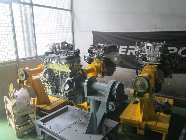 mesin praktek KRTC Bandung