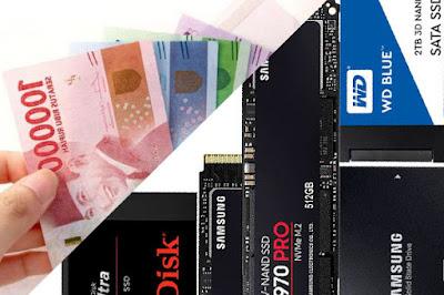 27 Merek SSD Murah Terbaik di Harga 500 Ribuan